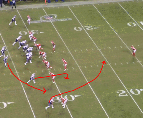 The Patriots and The Swing Pass